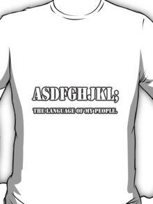 Fan Language T-Shirt