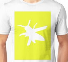 Wasp silhouette Unisex T-Shirt