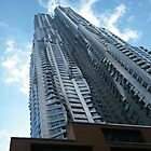 Frank Gehry Apartment Building and Skyscraper, Lower Manhattan, New York City by lenspiro