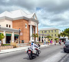 Straw Market on Bay Street in Downtown Nassau, The Bahamas by 242Digital