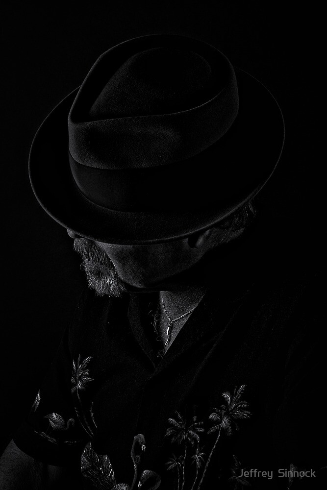 The man who isn't by Jeffrey  Sinnock