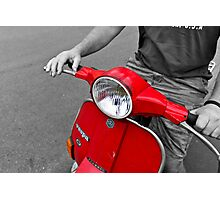 That Old Vespa! Photographic Print