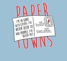 Paper Towns Love Womens Fitted T-Shirt