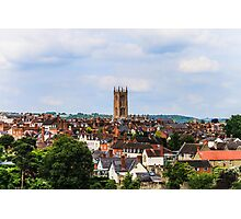 Ludlow, Shropshire On A Hot Summer Day Photographic Print