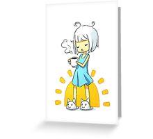 Morning Coffee 2 Greeting Card