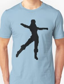 Dream Dancing in the Snowflakes Unisex T-Shirt