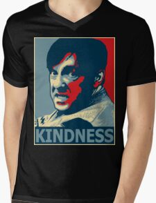 Ricky Gervais Derek Kindness Mens V-Neck T-Shirt