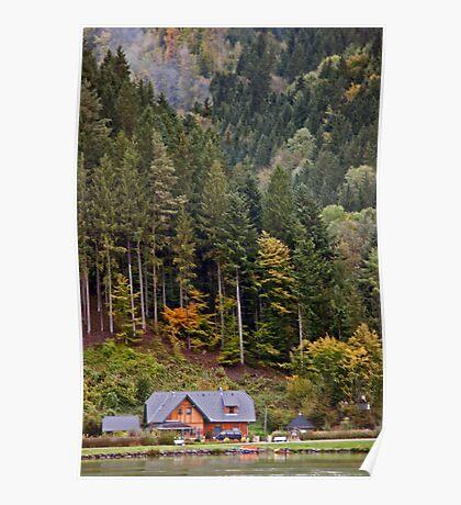 Bavarian Hillside Poster
