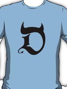 Devil (black print) T-Shirt