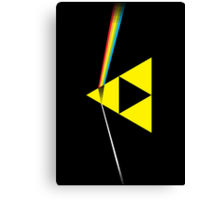 The Dark Side of the Triforce (horizontal) Canvas Print