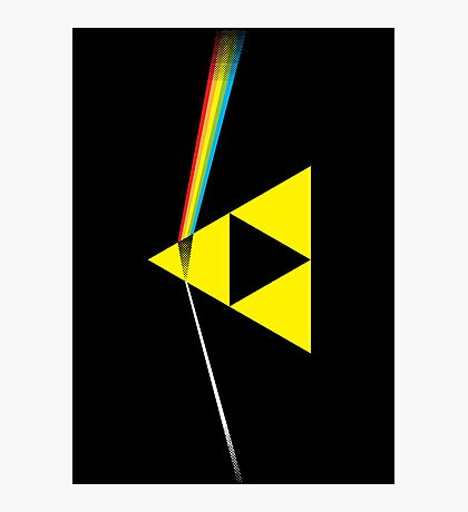 The Dark Side of the Triforce (horizontal) Photographic Print