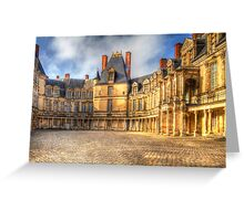 Fontainebleu Palace Greeting Card