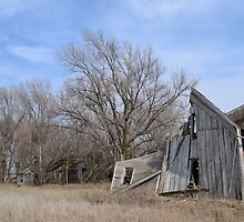 Broken Yankton Schoolhouse by Yanktonian