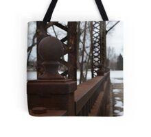 Sioux Falls Bridge Posts Tote Bag