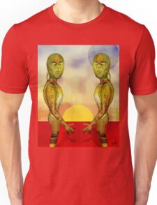 Cups and Saucers Unisex T-Shirt