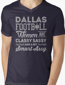Dallas Sassy & Classy Mens V-Neck T-Shirt