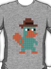 Pixel Perry the Platypus T-Shirt