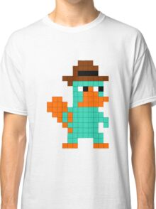 Pixel Perry the Platypus Classic T-Shirt