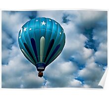 My Beautiful Blue Baloon Poster