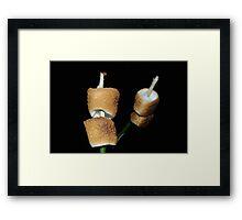 Perfect Marshmallow Framed Print