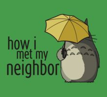 How I Met My Neighbor Kids Tee