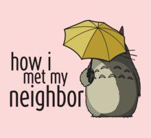 How I Met My Neighbor Kids Tee