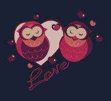 Lovely Owls Baby Tee