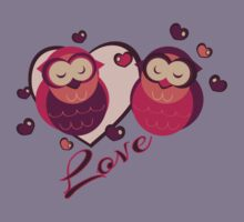 Lovely Owls Kids Clothes