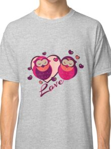 Lovely Owls Classic T-Shirt