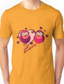 Lovely Owls Unisex T-Shirt