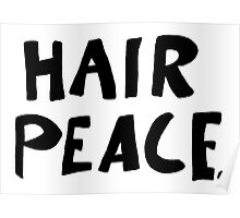Hair Peace Poster