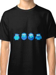 Four Blue Owls Classic T-Shirt