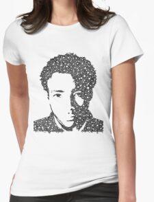 Childish Gambino Portrait Womens Fitted T-Shirt