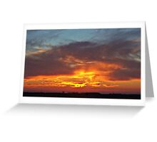 Cloud with a Golden Lining Greeting Card