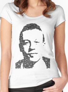Macklemore Portrait Women's Fitted Scoop T-Shirt