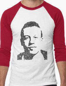 Macklemore Portrait Men's Baseball ¾ T-Shirt