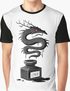 Ink Dragon Graphic T-Shirt
