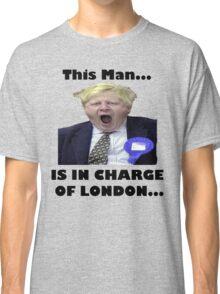 BORIS JOHNSON YAWN Classic T-Shirt