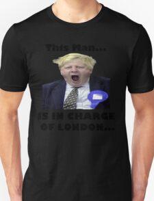 BORIS JOHNSON YAWN Unisex T-Shirt