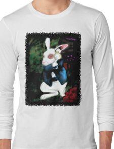 Alice in Wonderland White Rabbit Long Sleeve T-Shirt