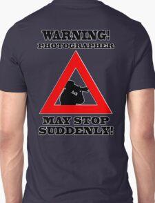 Warning! Photographer T-Shirt