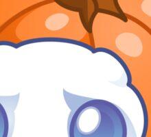 Pumpkin Fluff Sticker Sticker