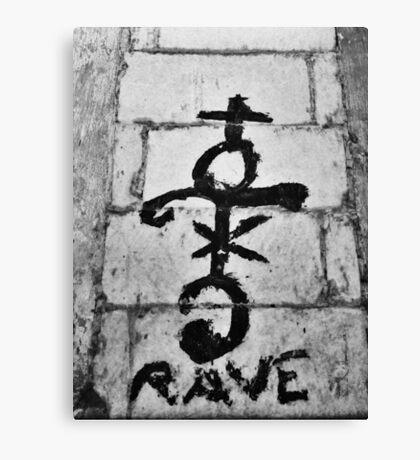 Rave - Chiara Conte Canvas Print