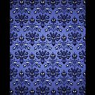 Haunted Mansion Wallpaper apple iphone 5, iphone 4 4s, iPhone 3Gs, iPod Touch 4g case by Pointsale store.com