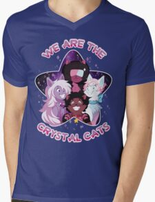 We are the Crystal Cats Mens V-Neck T-Shirt