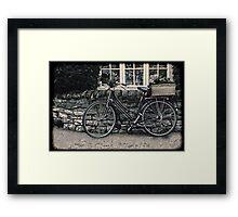 Delivery Time Framed Print