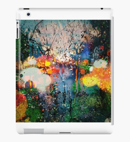 colourful stamp iPad Case/Skin