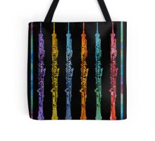 Rainbow of Oboes Tote Bag