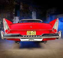 """Christine"", the Plymouth Fury from the movie of John Carpenter by Stefan Bau"