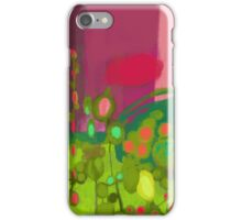 Garden before the storm iPhone Case/Skin